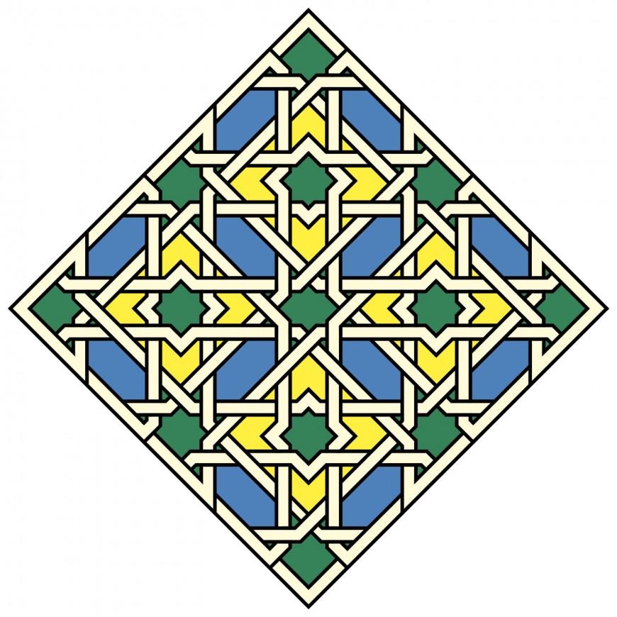 Mathieu Demore, Illustration jeunesse et Bande-dessinée Motifs du monde arabe à colorier