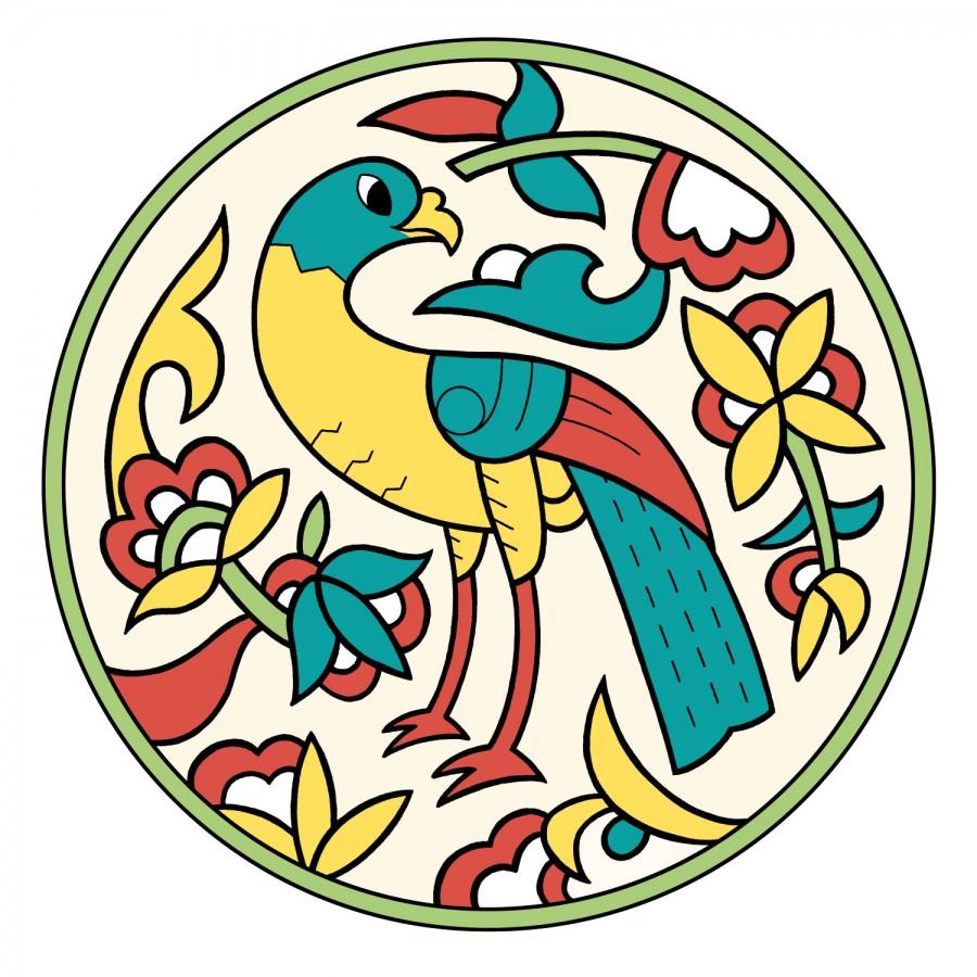 Mathieu Demore, Illustration jeunesse et Bande-dessinée Motifs du monde arabe à colorier Motifs arabes - coloriage - retz - Mathieu Demore
