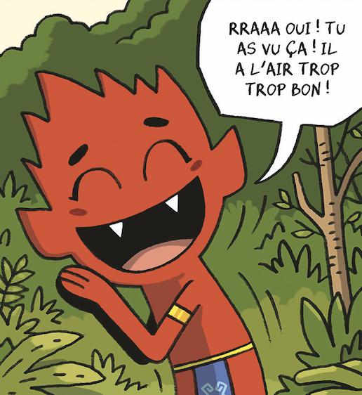 Mathieu Demore, Illustration jeunesse et Bande-dessinée Curupira BD pour le journal de Spirou aux éditions Dupuis - Mathieu Demore - Fabien Grolleau