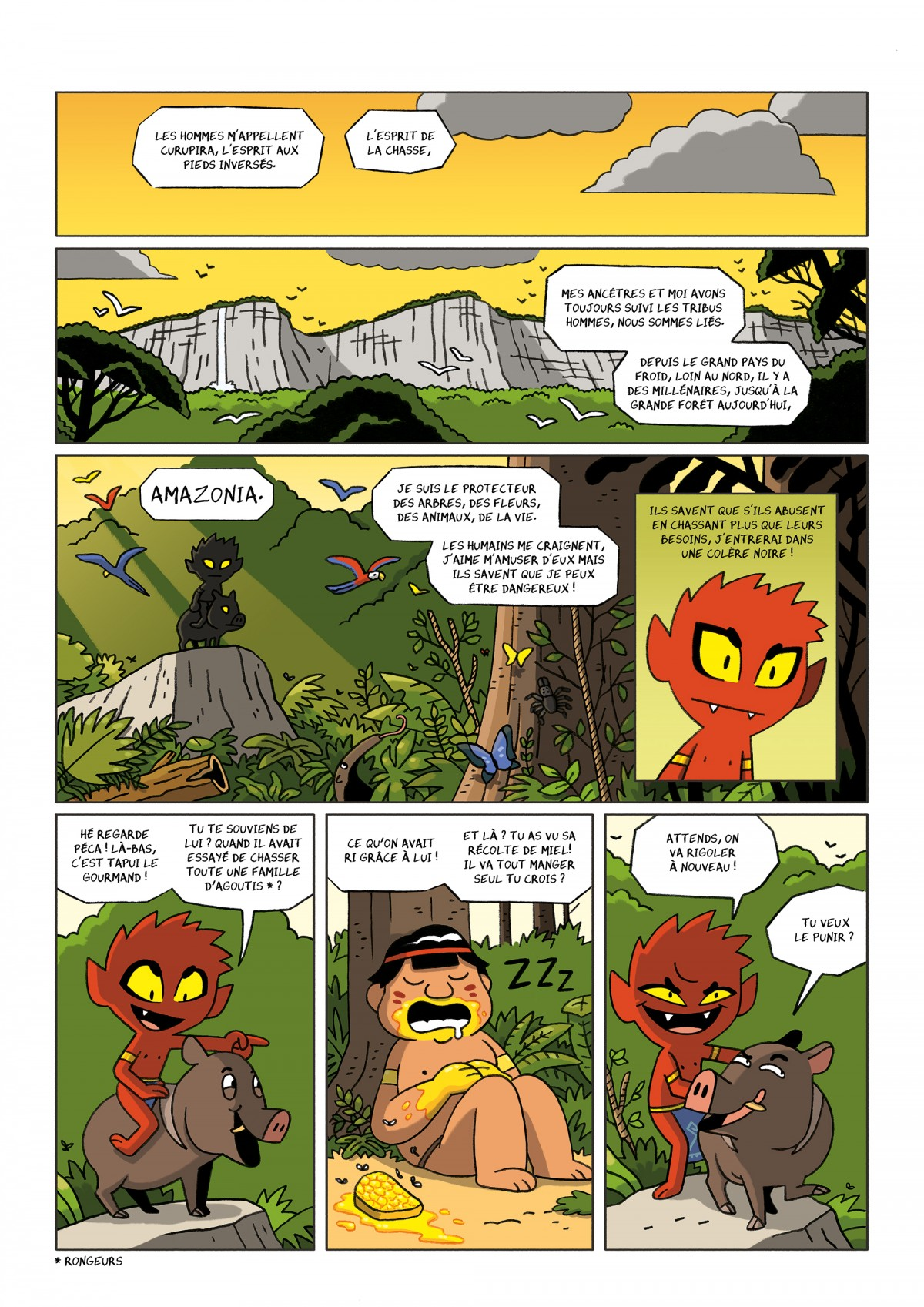 Mathieu Demore, Illustration jeunesse et Bande-dessinée Curupira
