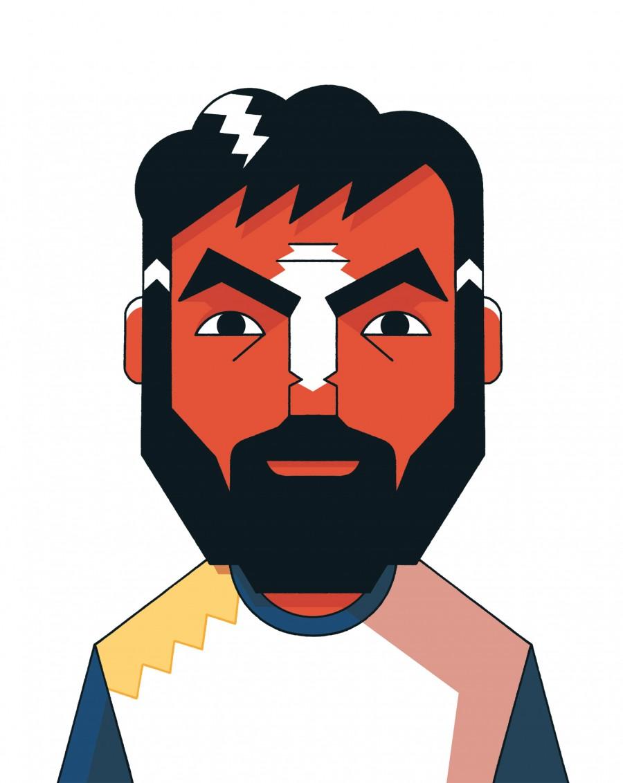 Mathieu Demore, Illustration jeunesse et Bande-dessinée Le collectif BD pour Le collectif, un ouvrage sur le football  Éditions Vide cocagne - Mathieu Demore