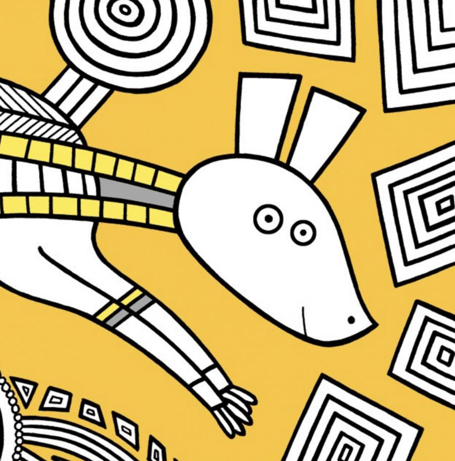 Mathieu Demore, Illustration jeunesse et Bande-dessinée Créations Mandala Livre de Mandala pour les ateliers du calme aux éditions Hachette - Mathieu Demore