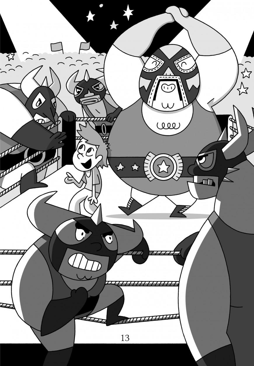 Mathieu Demore, Illustration jeunesse et Bande-dessinée Mr. Turlington