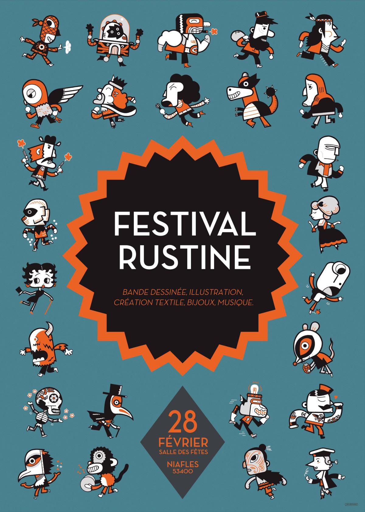 Mathieu Demore, Illustration jeunesse et Bande-dessinée Festival Rustine 2015
