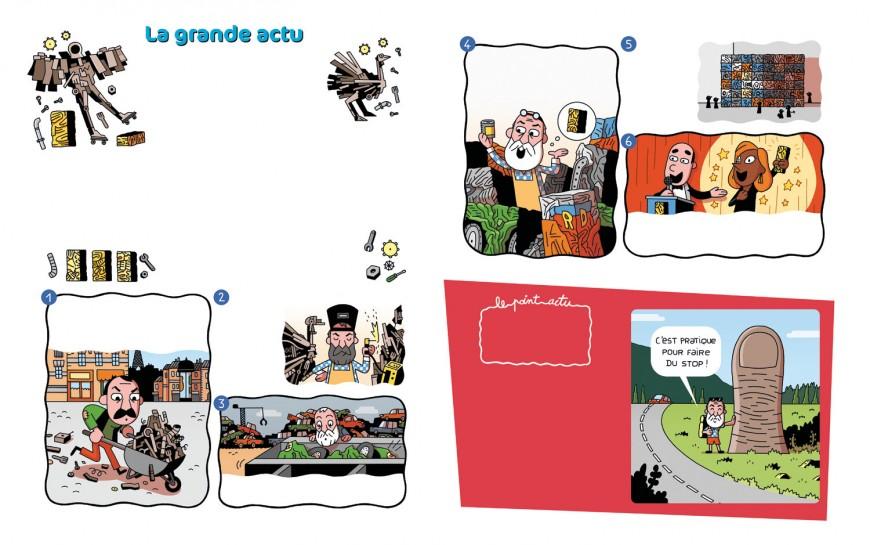 Mathieu Demore, Illustration jeunesse et Bande-dessinée Toboggan