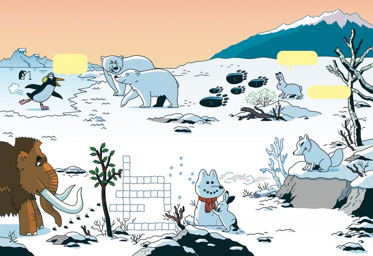 Mathieu Demore, Illustration jeunesse et Bande-dessinée Wapiti